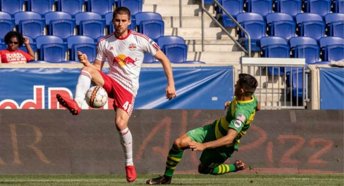 DEFENSIVE COLLAPSE: Red Bull II can't hold 2-0 lead, lose, 6-4