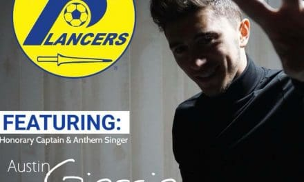 HEAR HIS VOICE TWICE: Austin Giorgio to sing national anthem twice at Lancers' opening doubleheader
