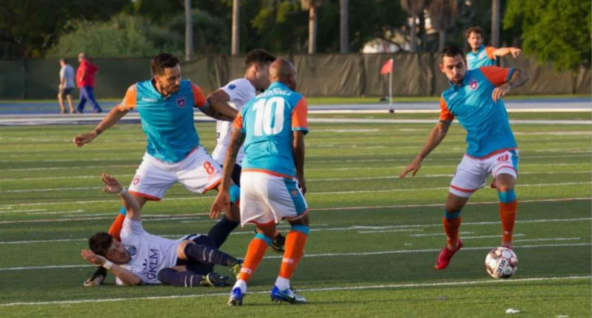 A MIAMI DERBY: Miami FC downs FC Miami City in Open Cup play-in