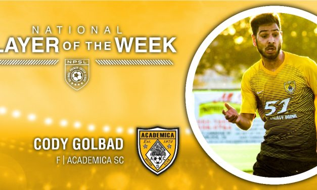 PLAYER OF THE WEEK: NPSL honors Academica SC's Golbad
