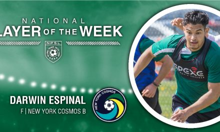PLAYER OF THE WEEK: NPSL honors Cosmos B's Espinal