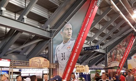 HONORING LUIS: Red Bulls commemorate Robles' record