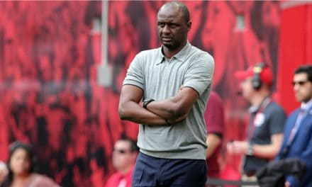A GONER?: Report: Vieira flies to Nice to finalize contract