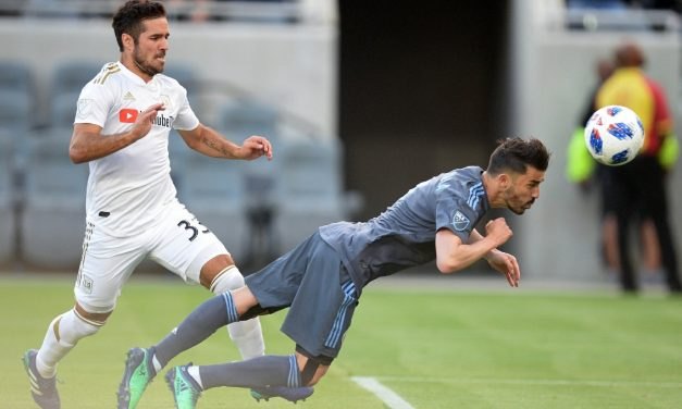 THEY GET THE POINT: Tajouri-Shradi goal lifts NYCFC into draw with LAFC