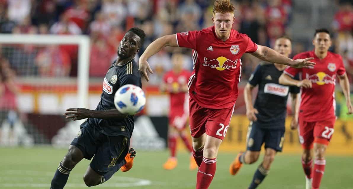 A REAL HEAD'S UP PLAY: Parker's header, goalline clearance saves a goal
