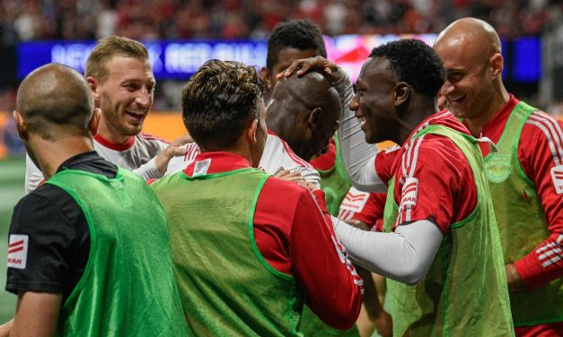 HEAD OF HIS CLASS: BWP continues to write a legendary career with the Red Bulls