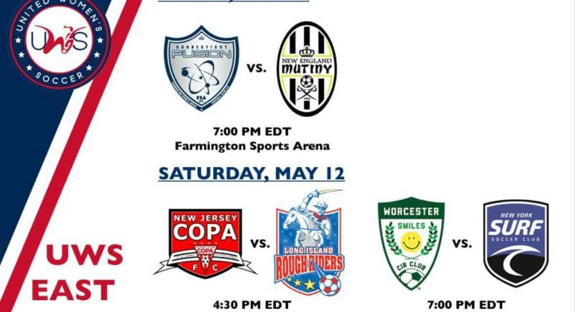 SEASON KICKOFF: Connecticut Fusion, NJ Copa FC, LI Rough Riders, Surf begin UWS season