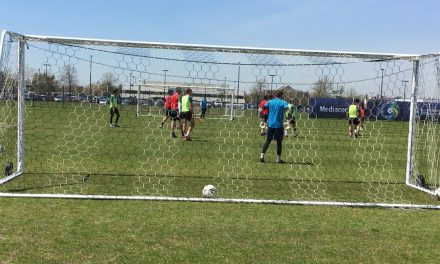 A GOALKEEPER'S EYE-VIEW: Of Cosmos B training