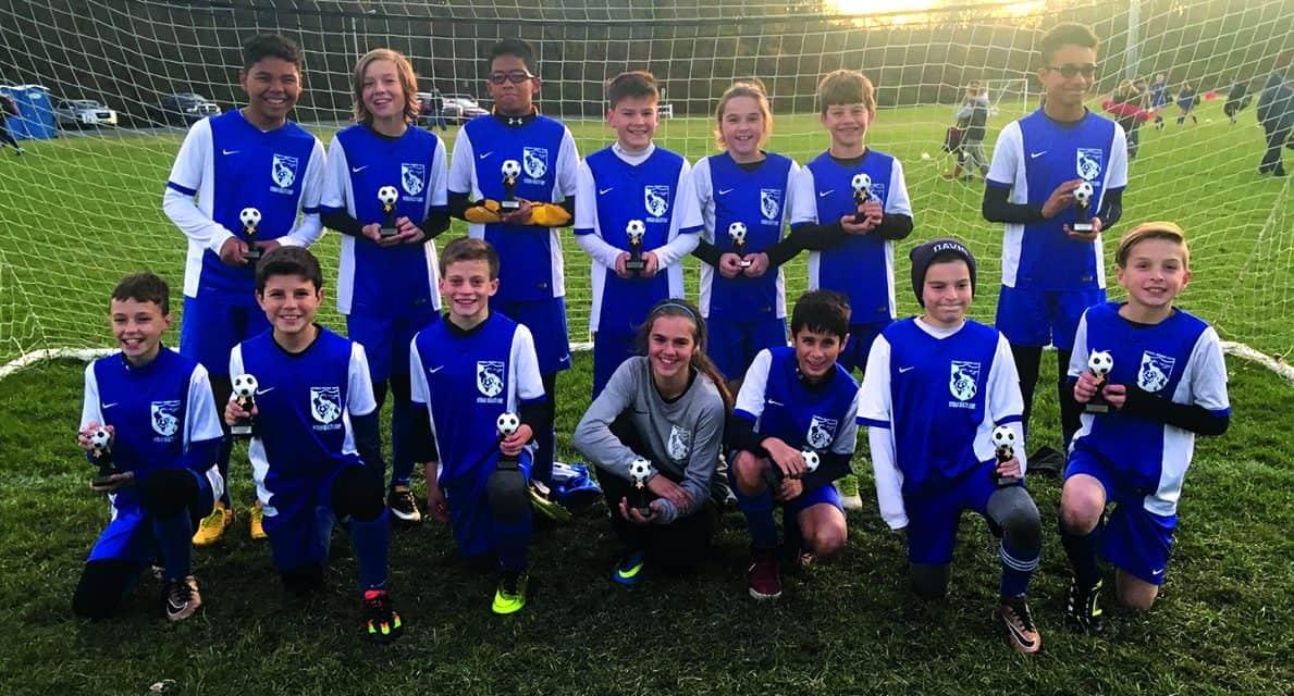 SPRING CHAMPIONS: Istria Blue Angels win ENYPL Boys U-13 title