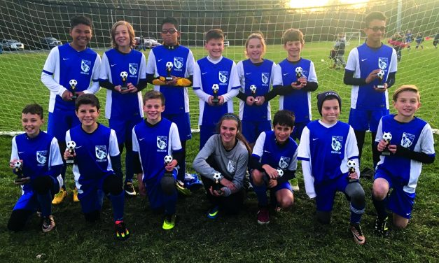 SPRING CHAMPIONS: Istria Blue Angels win ENYPL Boys U-13 title
