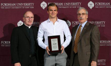 STUDENT-ATHLETE OF THE YEAR: Fordham honors Jannik Loebe with Lombardi Award