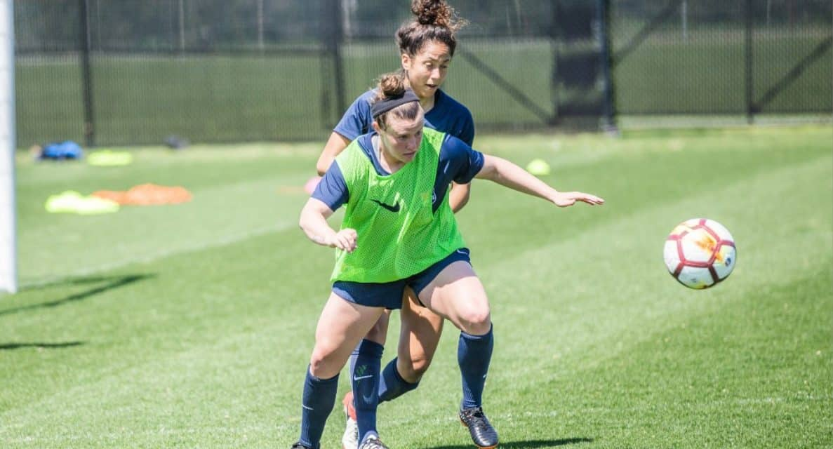 A MATCH-UP OF OPPOSITES: Winless Sky Blue FC hosts unbeaten Courage
