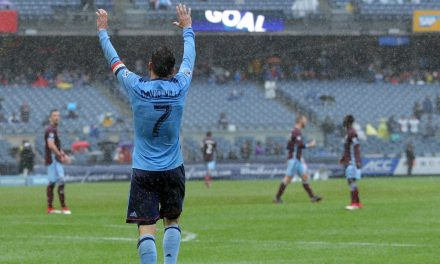 ANOTHER DAY TO REMEMBER: Villa's brace lifts NYCFC to rout of Rapids