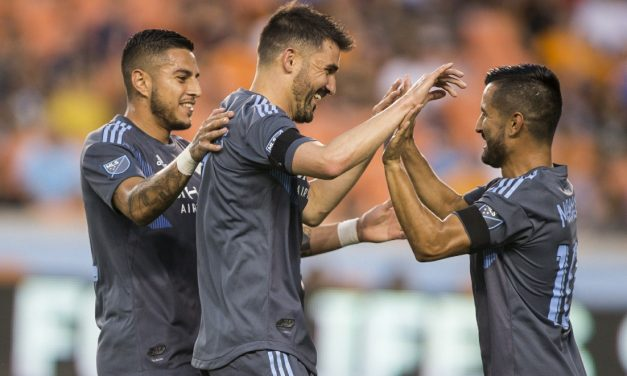 HOUSTON, WE HAVE SOME PROBLEMS: Shaky defense dooms NYCFC as Herrera is injured