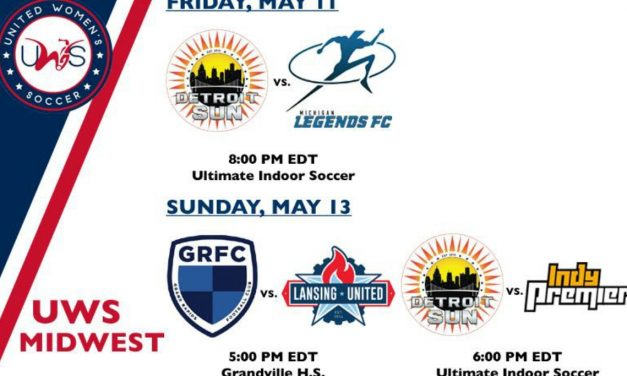 LET'S PLAY TWO: Detroit Sun FC kicks off UWS season with two home matches