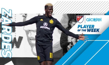 PLAYER OF THE WEEK: MLS honors Columbus' Zardes