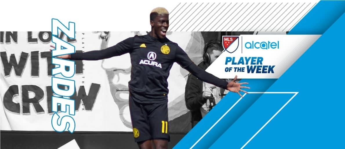 PLAYER OF THE WEEK: MLS honors Columbus' Zardes