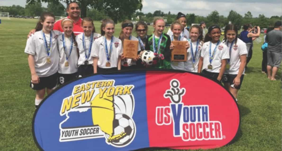 ENY STATE OPEN CUP GIRLS U-12: Alleycats Academy Red 4, SDA East 2