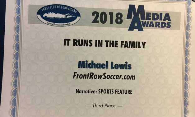 THIRD PLACE: PCLI honors FrontRowSoccer for 5-part series about Mark Pulisic and son