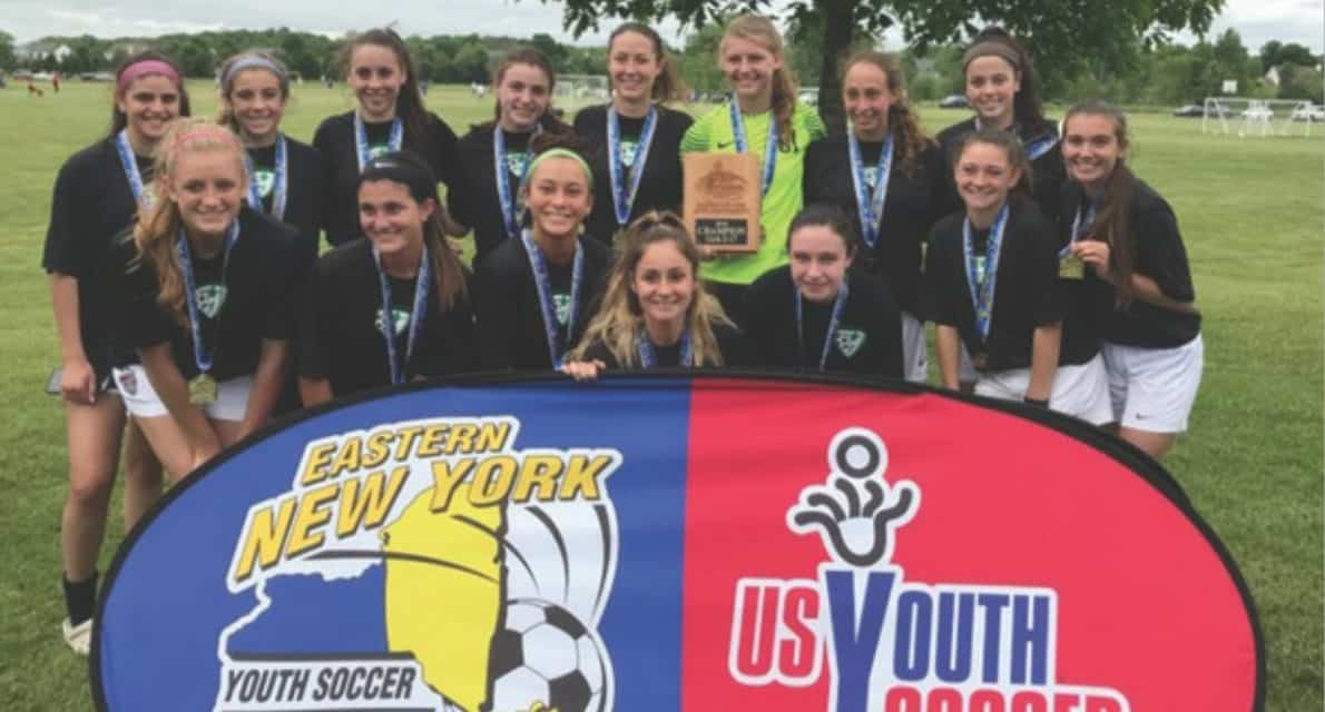 ENY STATE OPEN CUP GIRLS U-17: Brentwood Blaze 4, Lynbrook/East Rockaway Screaming Eagles 2