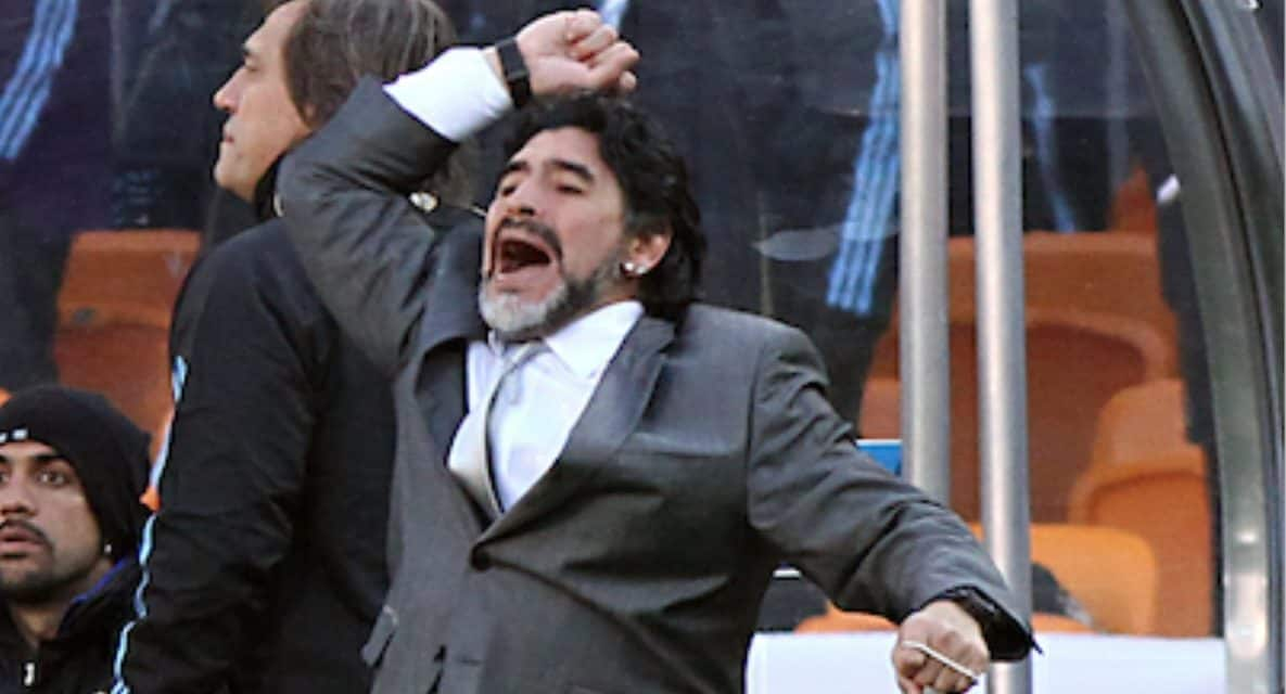 OFFSIDE REMARKS: Diego Maradona, a genius on the field, a very flawed human being off of it