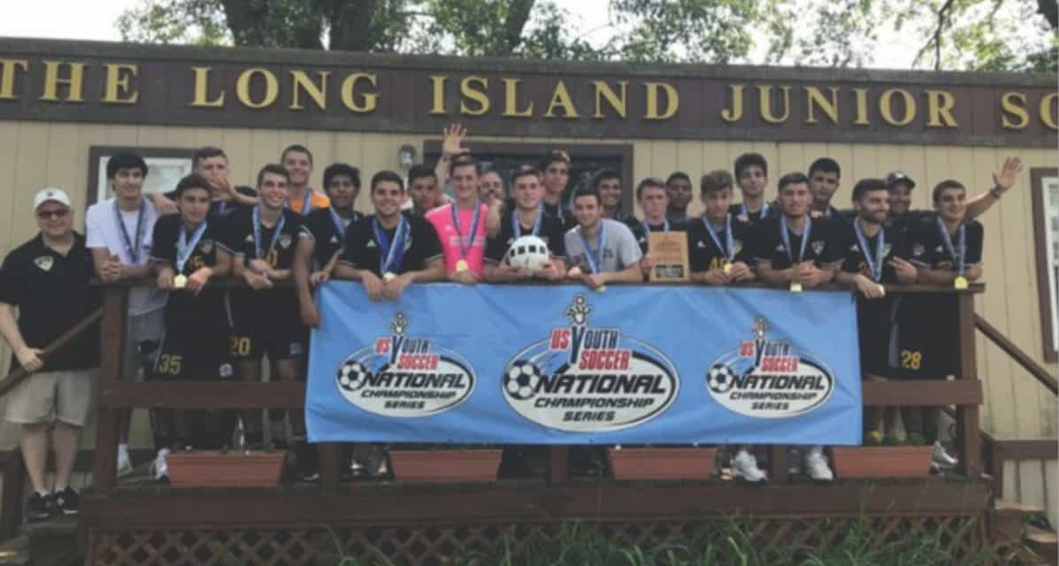 ENY STATE OPEN CUP BOYS U-19: Dix Hills Hurricanes 5, FC Somers Galaxy 2