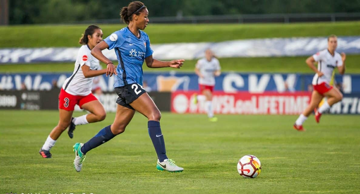 FIRST TIME: Sky Blue FC's Dorsey called into USWNT camp for final 2 friendlies