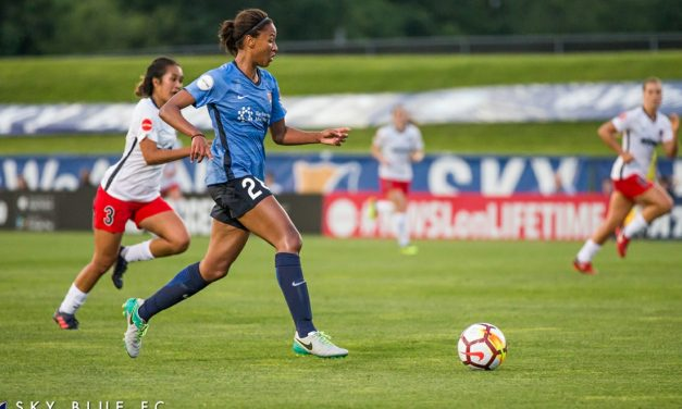 A PROMOTION: Sky Blue FC's Dorsey goes from replacement to full-time contract