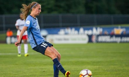 A ROAD DRAW, BUT STILL WINLESS: Killion's late goal lift Sky Blue FC (0-16-6) into tie at Spirit