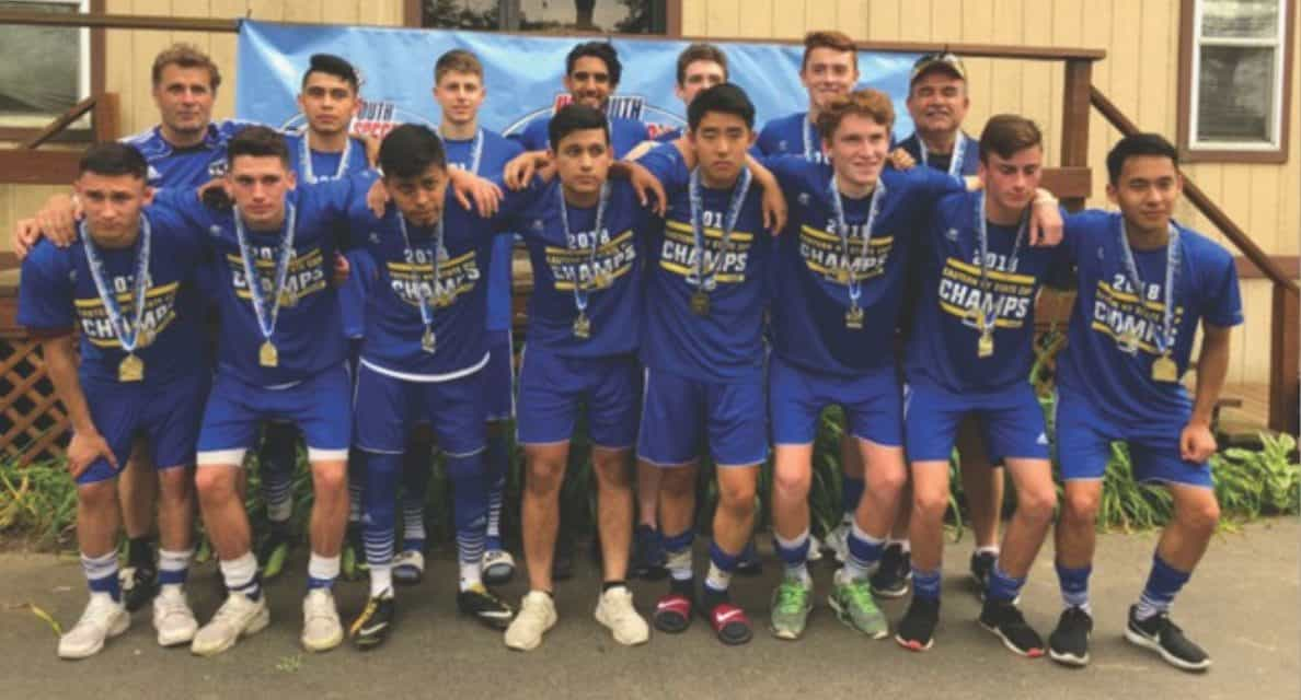 ENY STATE OPEN CUP BOYS U-18: Levittown Rage 1, Eleftheria/Pancyprian Spartans