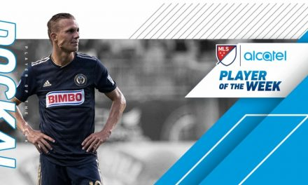 LEAGUE HONORS: Philly's Dockal nabs MLS player of the week