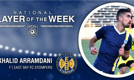 NPSL HONORS: Arramdani named NPSL player of the week