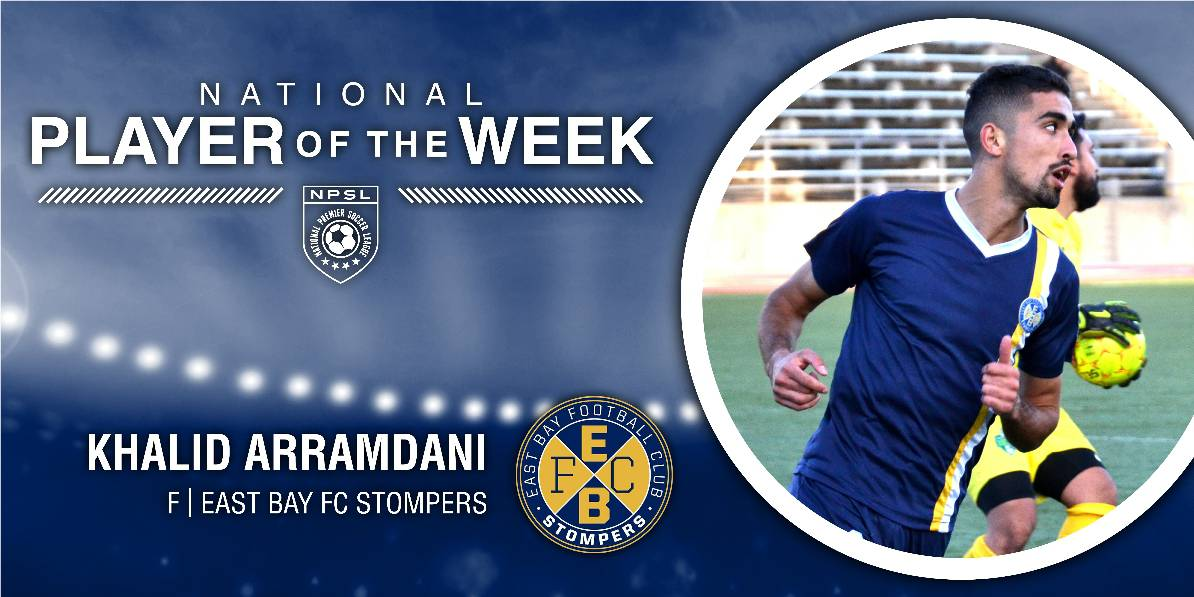 NPSL HONORS: Arramdani named NPSL player of the week