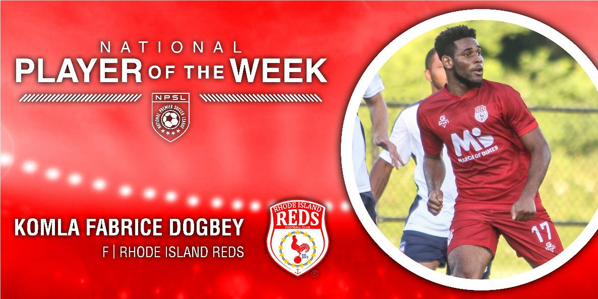 PLAYER OF THE WEEK: NPSL honors Reds FC's Dogbey