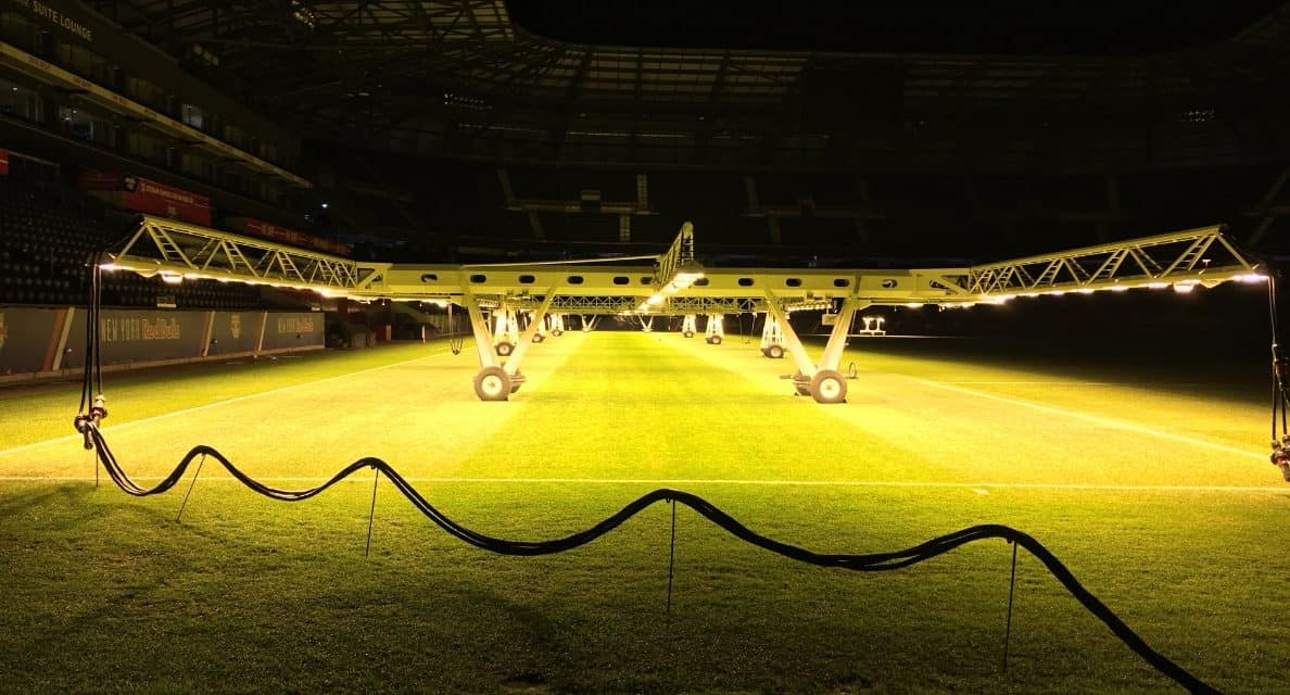 PICTURE THIS: So, this is how they keep RBA's grass so green