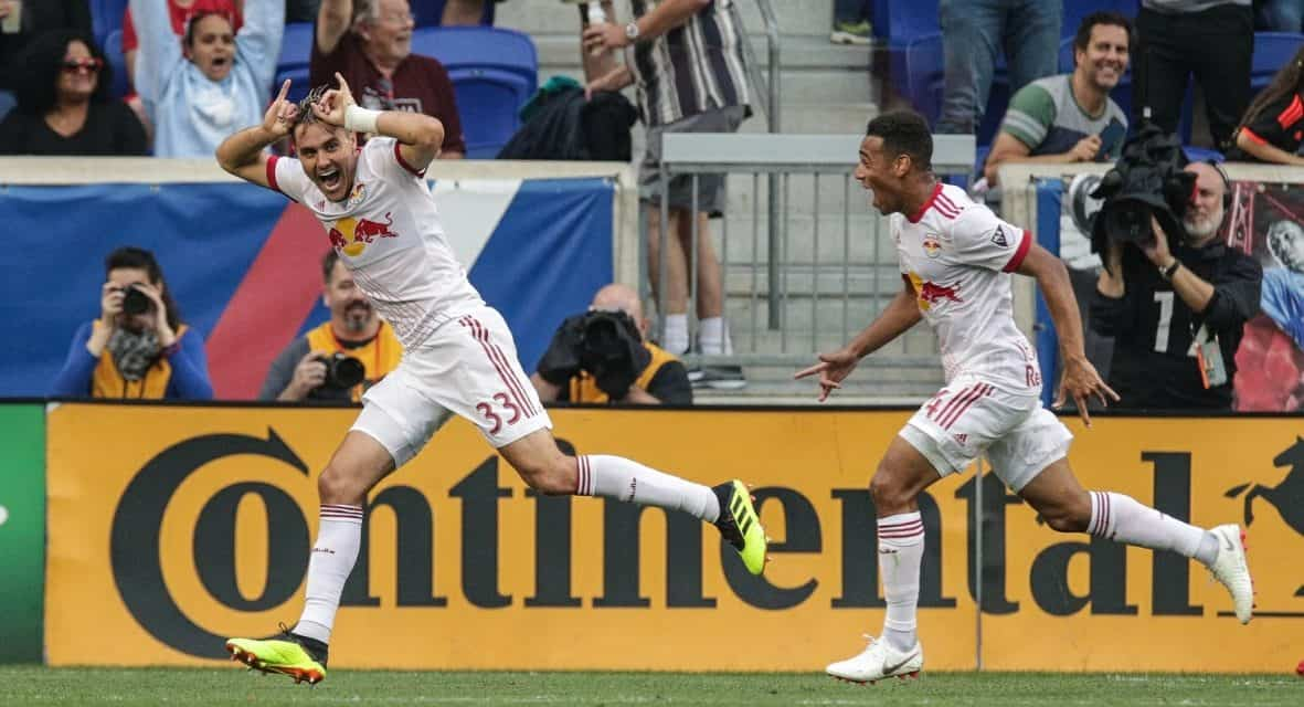 ONE MAN DOWN, THREE GOALS UP: 10-man Red Bulls roll over FC Dallas, 3-0