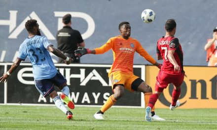 A TIMELY BRACE AND A WINNING DEBUT: Berget's 2 goals lift NYCFC over Toronto FC in Torrent's debut as coach