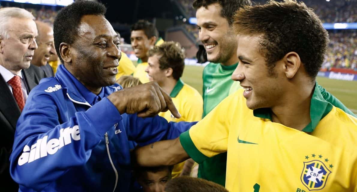 OFFSIDE REMARKS: Happy anniversary, Pele, still the greatest