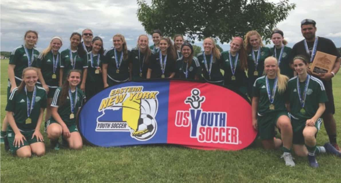 ENY STATE OPEN CUP GIRLS U-16: Farmingdale Stars 2, Stony Brook Crew 1