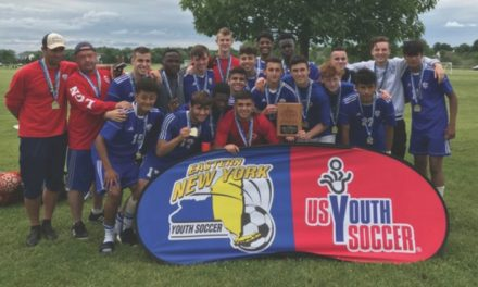 ENY STATE OPEN CUP BOYS U-17: Lake Grove/Newfield United 2, Stony Brook Crew 1