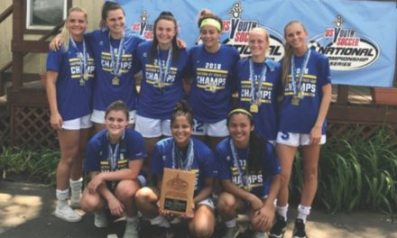 ENY STATE OPEN CUP GIRLS U-19: Lake Grove/Newfield Tsunami 4, LaGrange Chazers 3