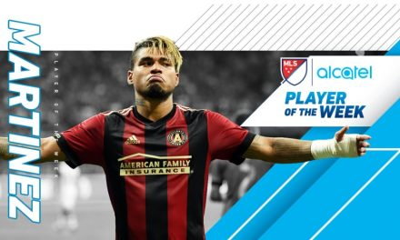 IT'S OLD HAT TO HIM: Martinez named MLS player of the week
