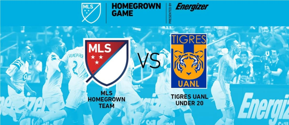 SOME HOME COOKING: MLS Homegrowns to take on Mexico U-20 champions Tigres