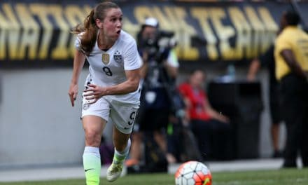 DEFEATING A CHAMPION: Courage blank Lyonnais to win 1st Women's International Champions Cup