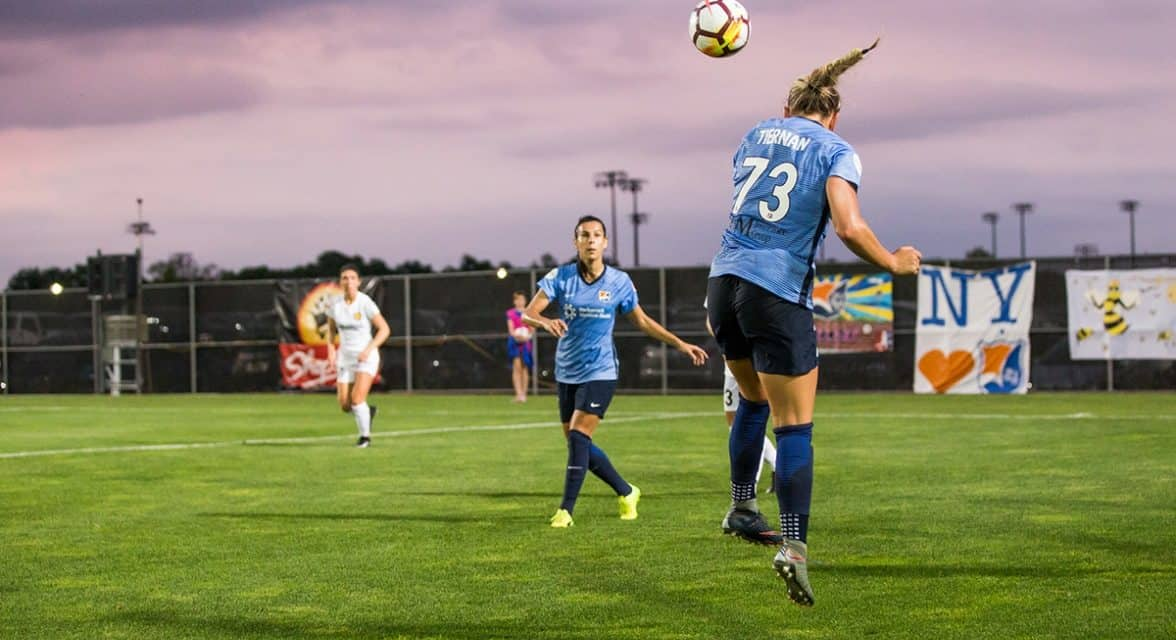 BEHIND THE EIGHT BALL: Winless Sky Blue FC loses 8th of the season via an own
