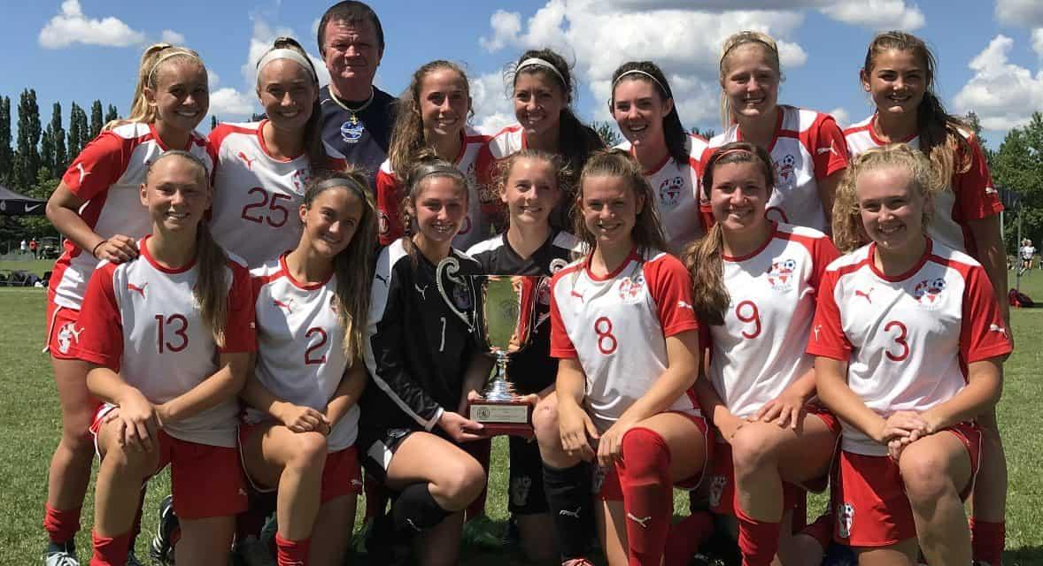 NATIONAL CHAMPS: Internationals SC girls U-16s win ECNL title