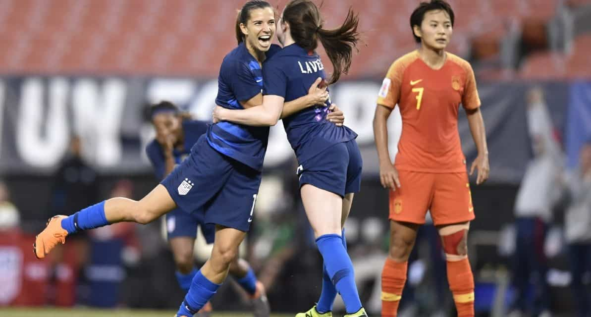 A HAPPY RETURN: Heath scores game-winner for U.S. in 1st game back since injury