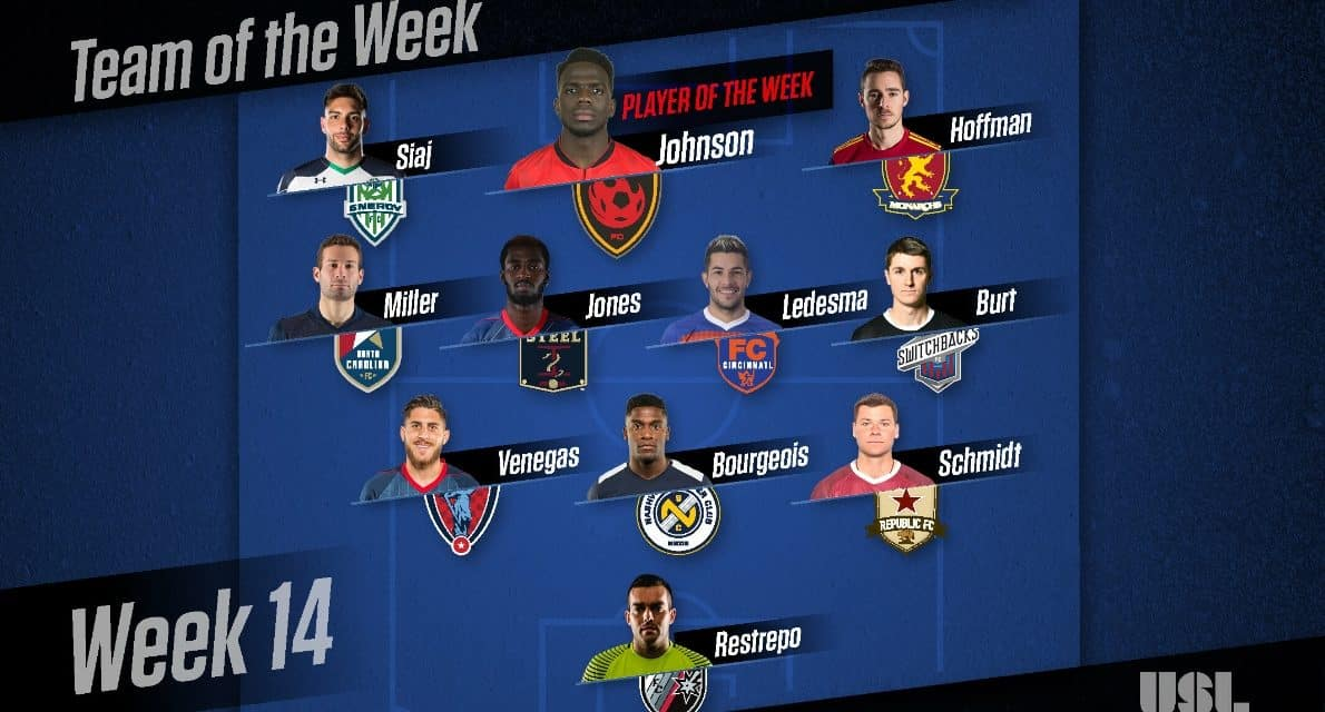 CALL HIM MAGIC JOHNSON: USL names Phoenix Rising FC forward player of the week