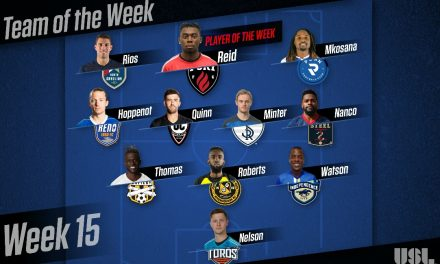 HAT'S OFF: USL names Ottawa Fury FC's Reid player of the week