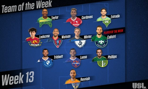 USL PLAYER OF THE WEEK: Saint Louis FC's Calistri is honored